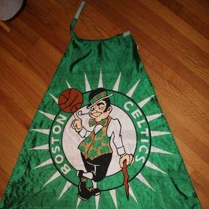 Boston Celtics cape